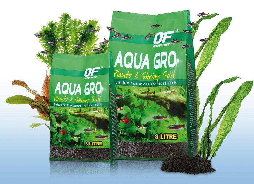 Sustrato AQUA GRO. El agua ideal para los peces