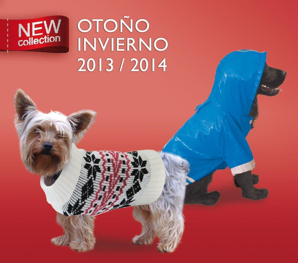 Nuevos sweaters y chubasqueros para perros