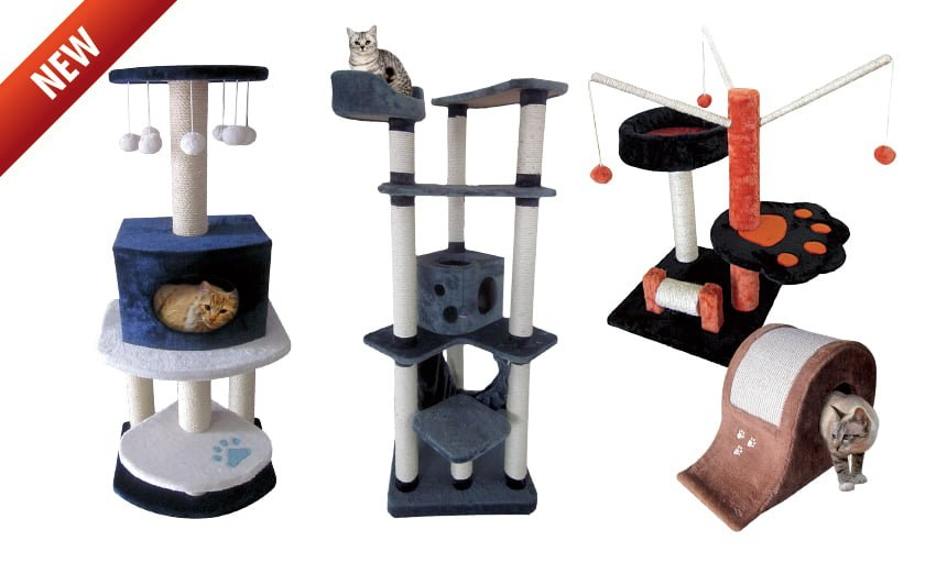 Nuevos rascadores de gatos