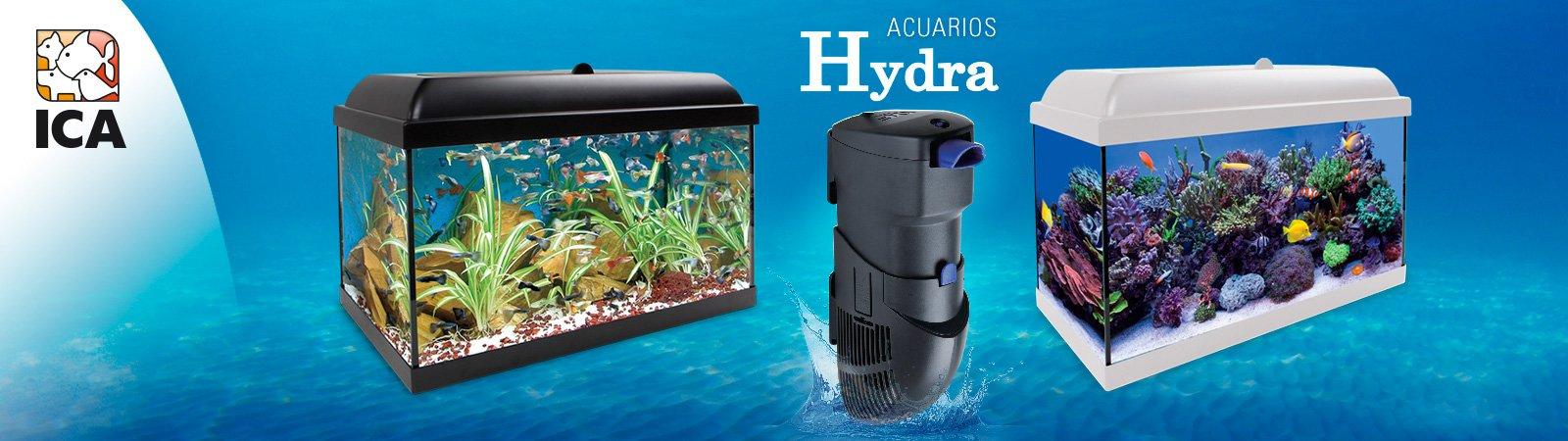 Kit Acuarios Hydra: agua dulce y marinos