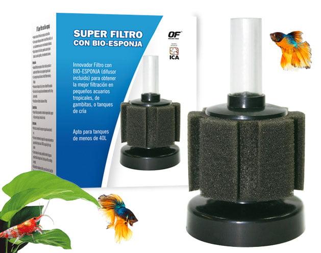 Filtro-bioesponja