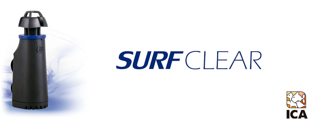 SURFCLEAR OF: Skimmer inteligente de superficie