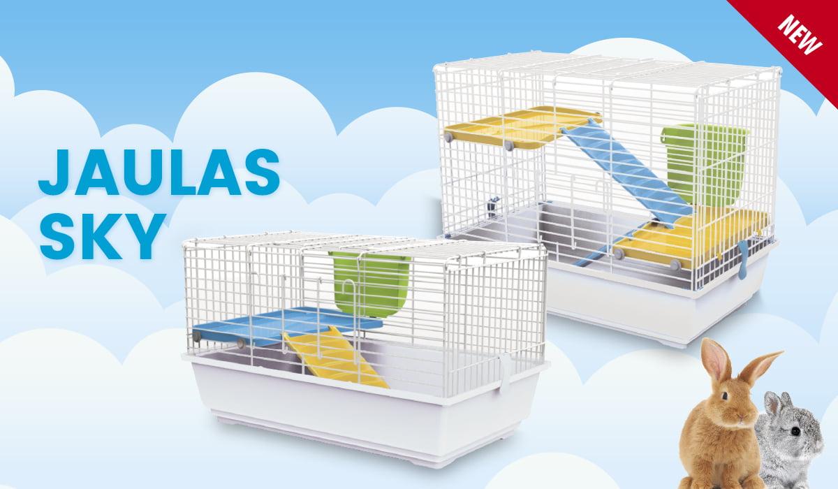 Jaulas Sky para conejos