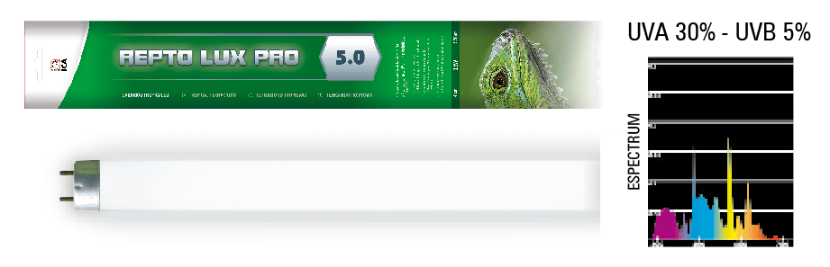 Reptolux Pro T8 5.0 ICA