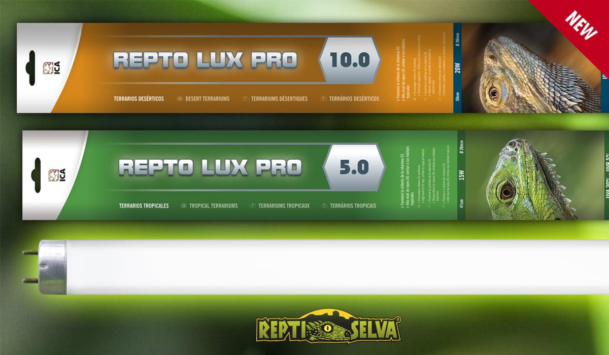 Fluorescentes Reptolux Pro T8