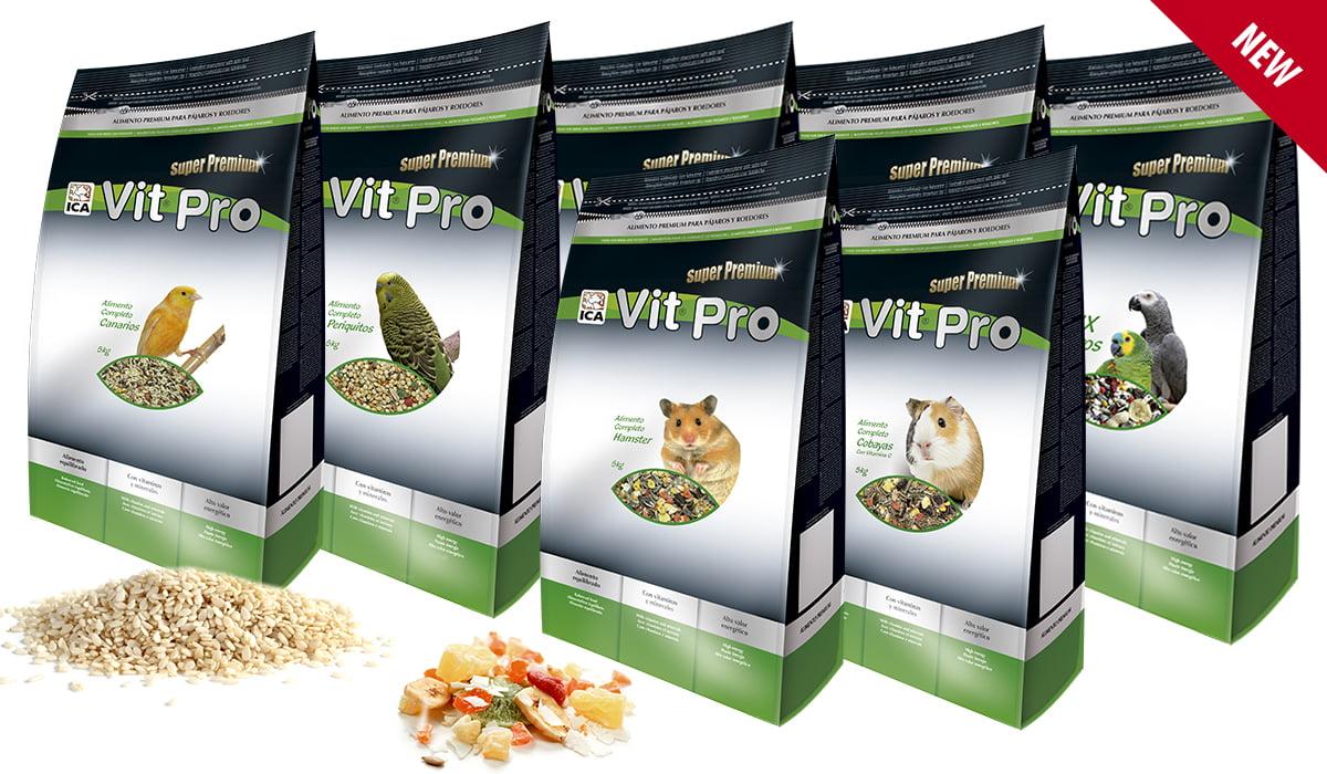 Nueva bolsa de 4-5Kg de piensos y semillas VIT Pro