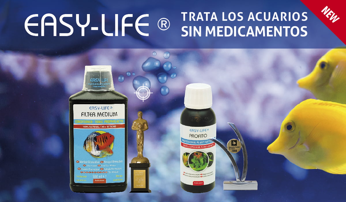 Easy-life trata los acuarios sin medicamentos