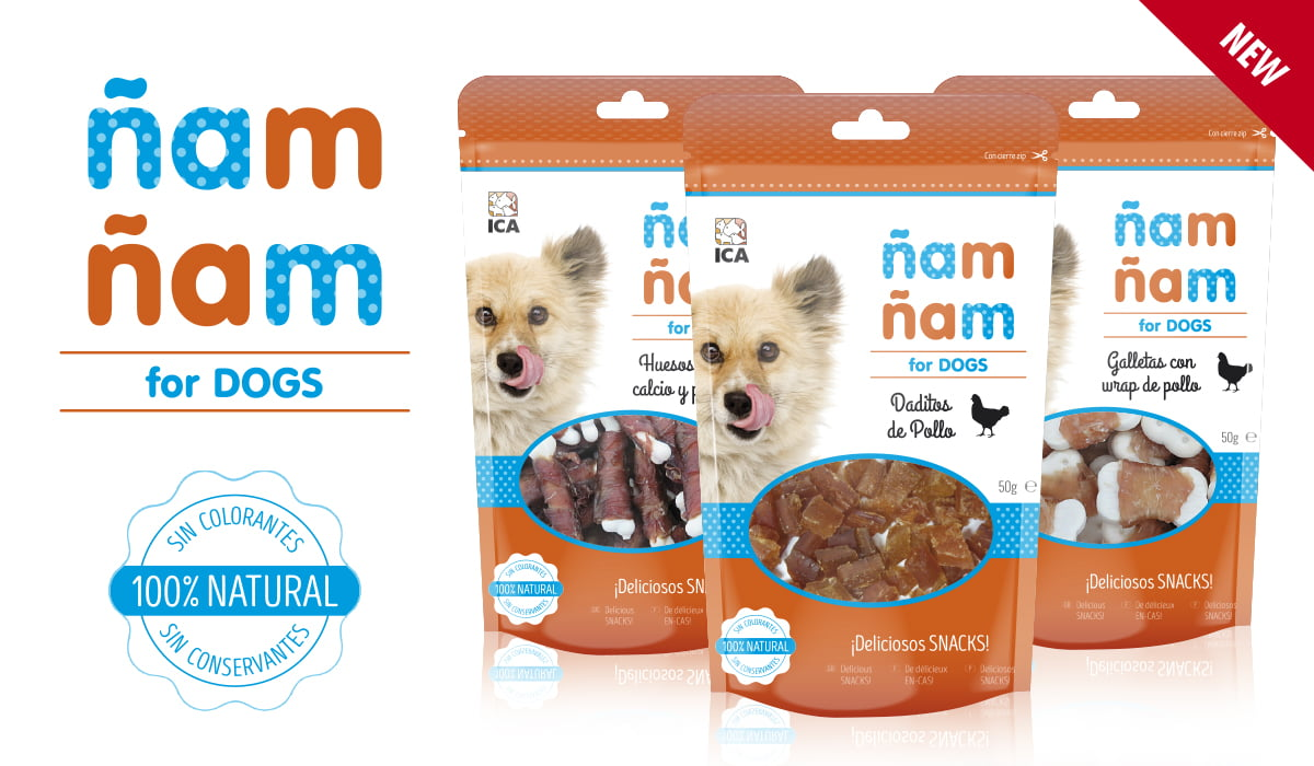 Snacks Ñam-Ñam for dogs
