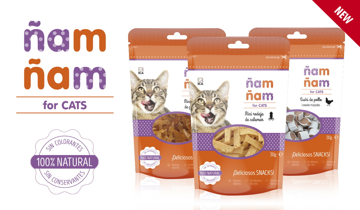 Snacks Ñam-Ñam for cats
