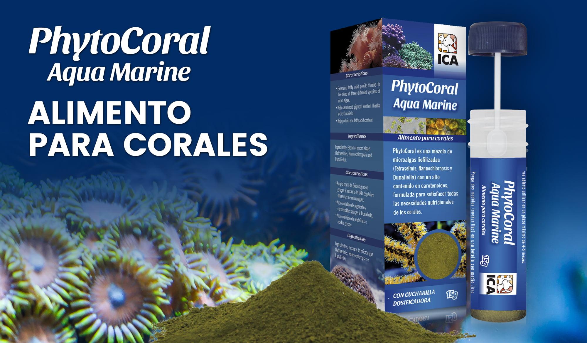 PhytoCoral: alimento para corales