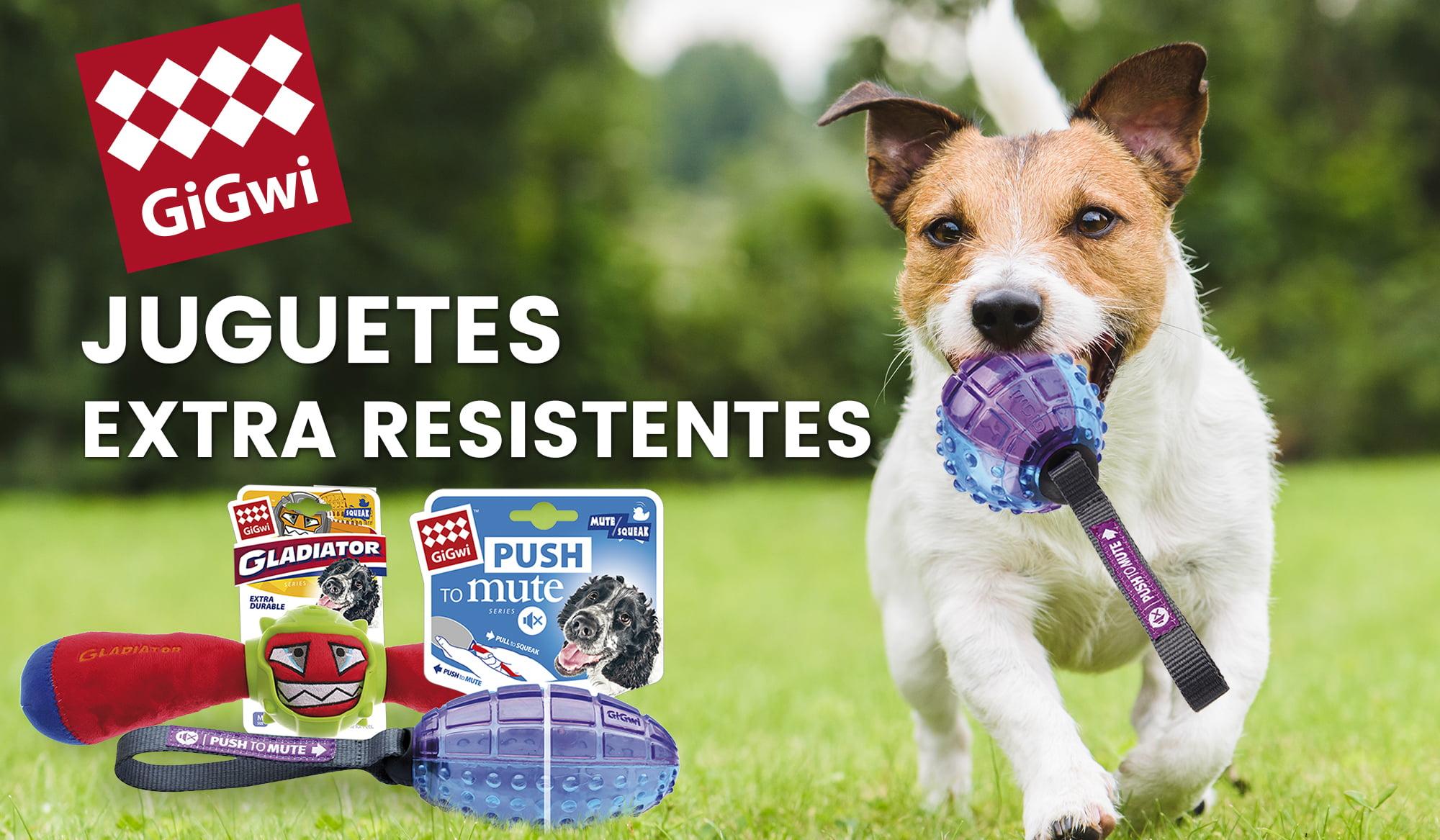 Gigwi: juguetes para perros