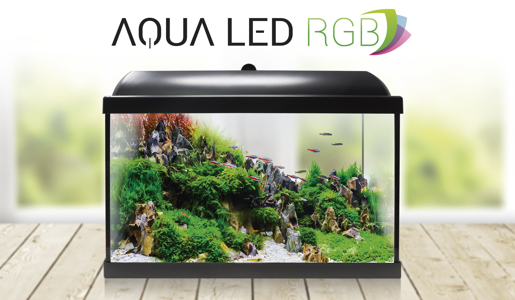 Nuevos acuarios AQUA LED RGB