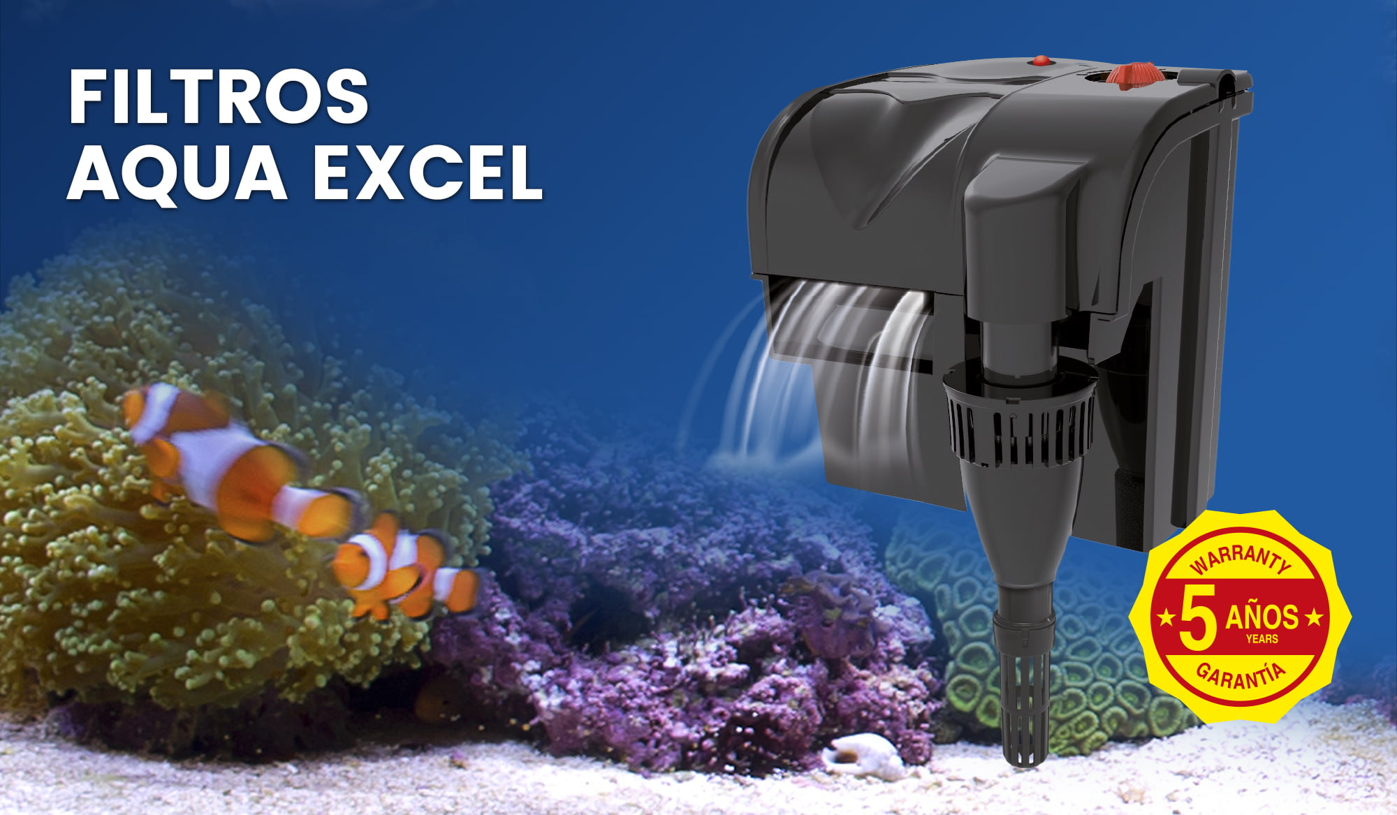 Filtros Aqua Excel