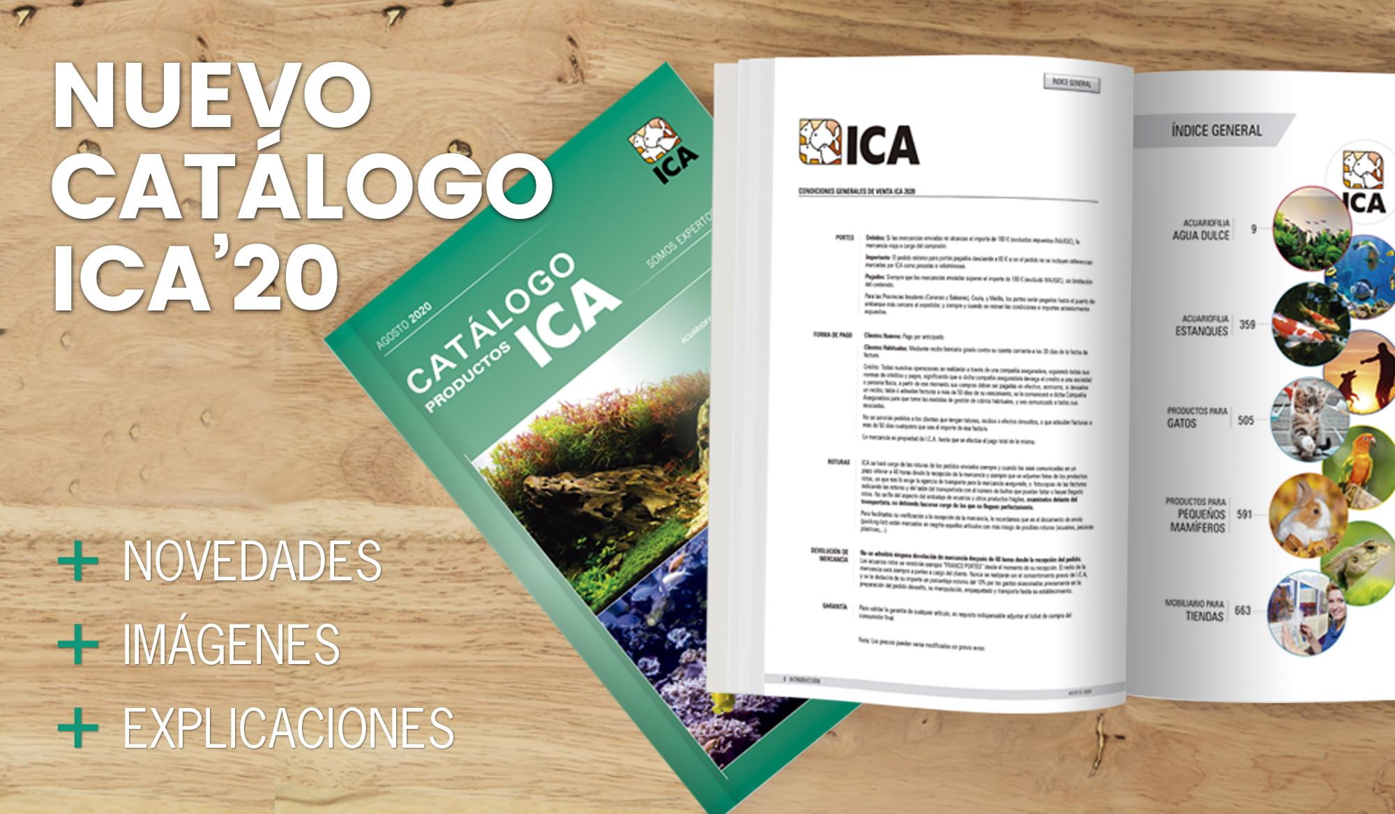 Nuevo Catálogo ICA 2020