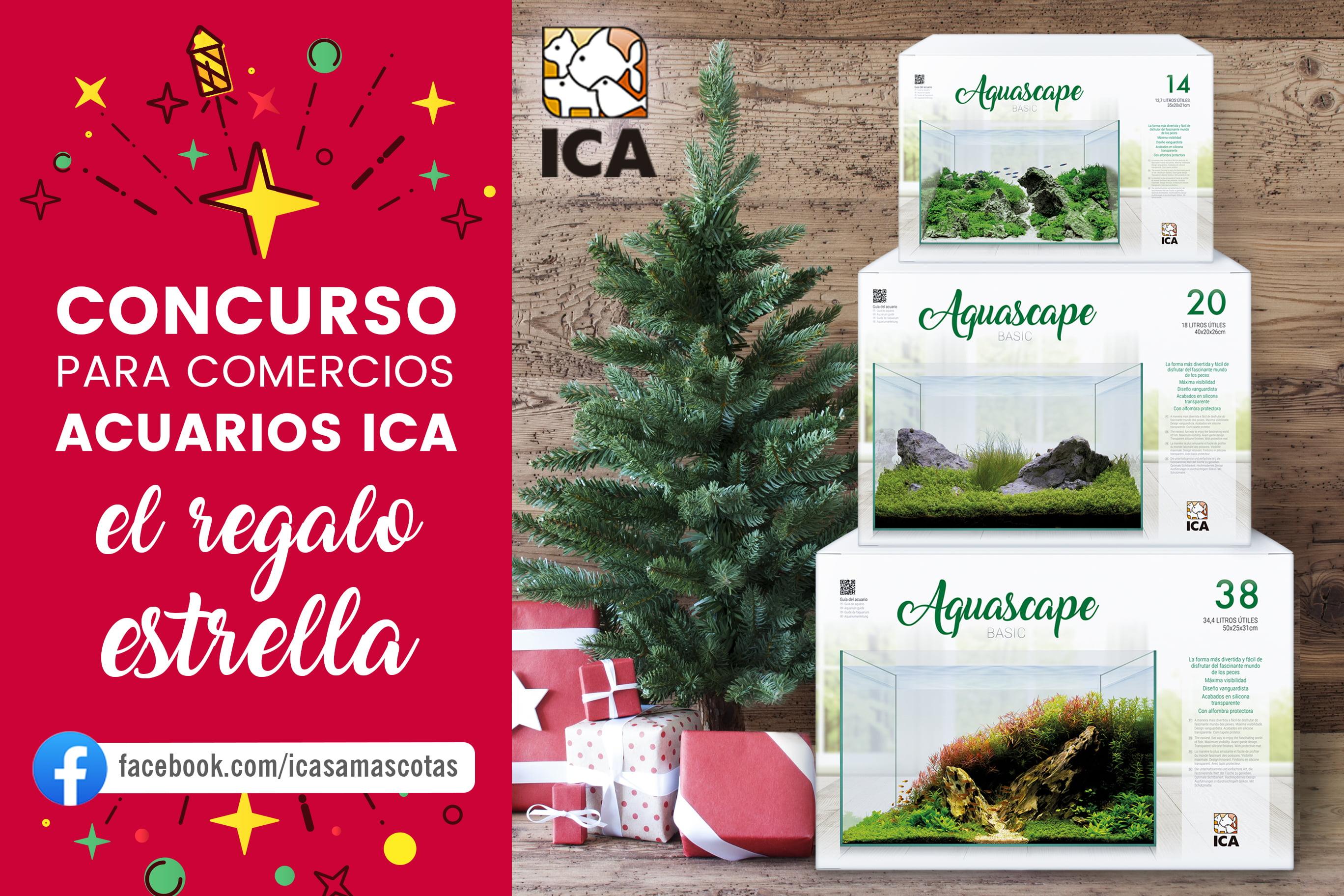 Concurso fotográfico Facebook: «Acuarios ICA, el regalo estrella»