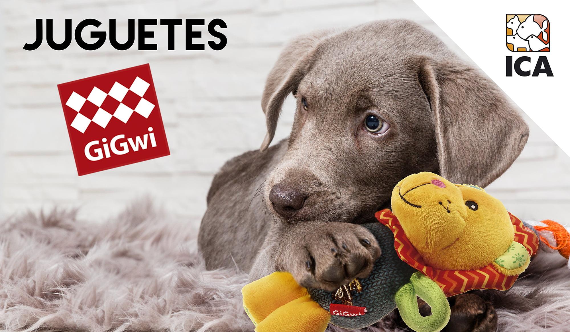 Juguetes para perros y gatos GiGwi