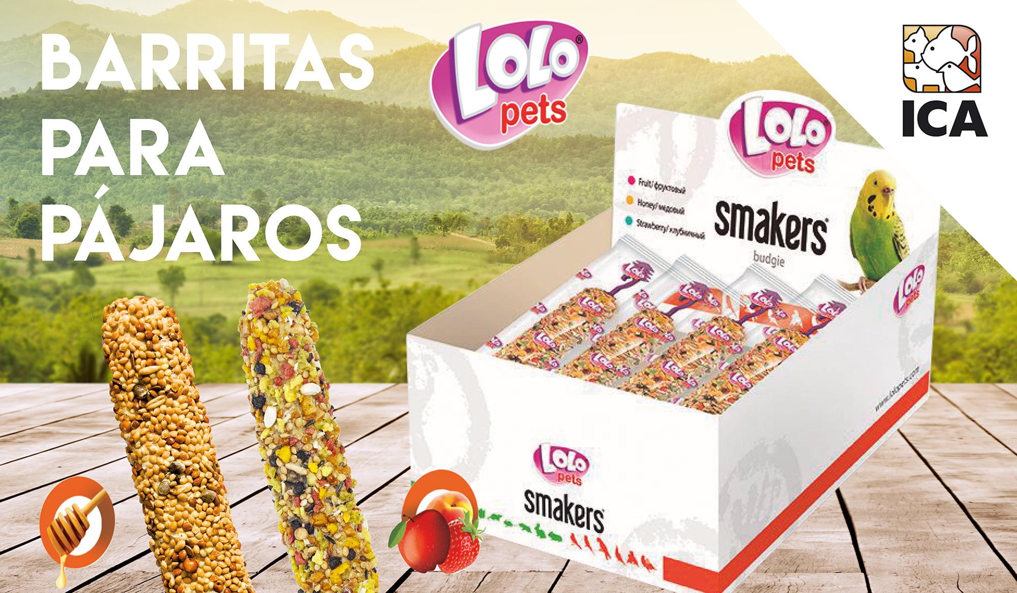 Barritas LOLO para canarios, periquitos y ninfas